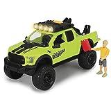 Dickie Toys 203835003 - Playlife Bike Trail Set, Ford Raptor Geländewagen inkl. Figur, 25 cm