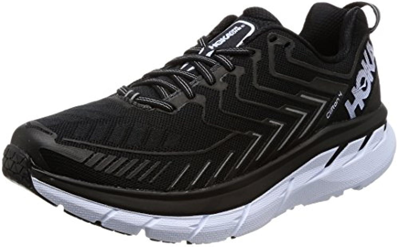 hoka Zapatillas de Running de Material Sintético Para Hombre Negro/Blanco