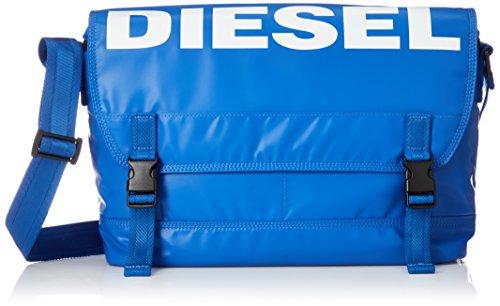 Diesel Herren BOLDMESSAGE F-BOLD MESSENGER - cross bodybag Kuriertasche, Königsblau, Einheitsgröße
