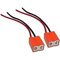 AERZETIX: Cable conector para bombillas H7 12V/24V de coche camión (2 piezas)