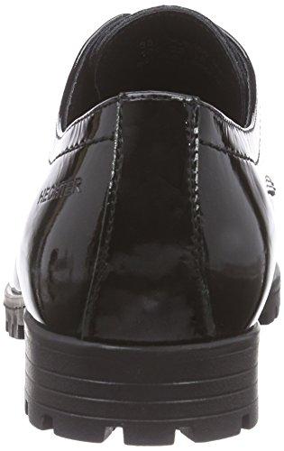 Daniel Hechter Hj550816f, Derbies à lacets femme Noir - Noir