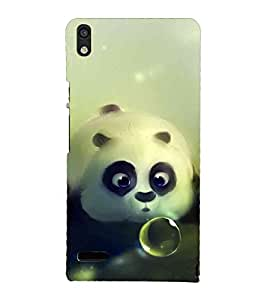 Unique print Back cover for Huawei Ascend P6