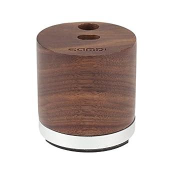 Samdi Holz Mini Ladegerät & Halterapple Pencil Charing Dock Stand Für Apple Ipad Pro Bleistift Ladegerät Dock Stehen (Schwarze Walnuss) 1