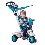 Smart Trike r?ve riche tricycle bleu monter sur b?b?s poussette, enfants