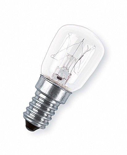 OSRAM Nähmaschinen Lampe E14 Special T / 15W / als Kühlschranklampe geeignet / 2700K- warmweiß / dimmbar, klar