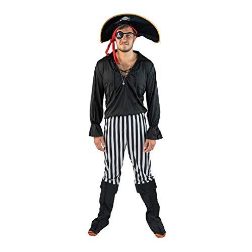 Männliche Piraten Kostüm Für Erwachsene - Bodysocks®  Piratenkostüm für
