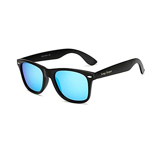 fba4d622141d LongKeeper Polarized Sunglasses Classic Vintage Square Sun Glasses ...