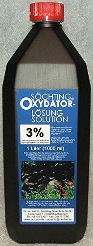 Söchting 3{e4cbc5828c6218f6041a44a327206a28388b283872669f6142f5018c35f5f588}ige Oxydator-Lösung 1 Liter