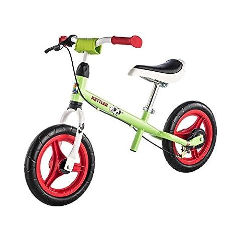 """Kettler Laufrad Speedy """"Emma"""" 2.0 – Farbe: Grün und Rot – Reifengröße: 12,5 Zoll, ab 2 Jahren geeignet – das ideale Lauflernrad – maximale Sicherheit – Artikelnummer:"""