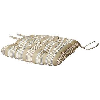 ikea stuhlkissen s r sitzauflage f r drinnen und drau en 35x35 cm beige. Black Bedroom Furniture Sets. Home Design Ideas