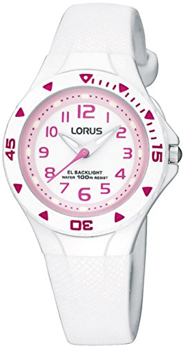 Lorus Orologio Analogico Quarzo Unisex Bambini con Cinturino in PU R2335DX9