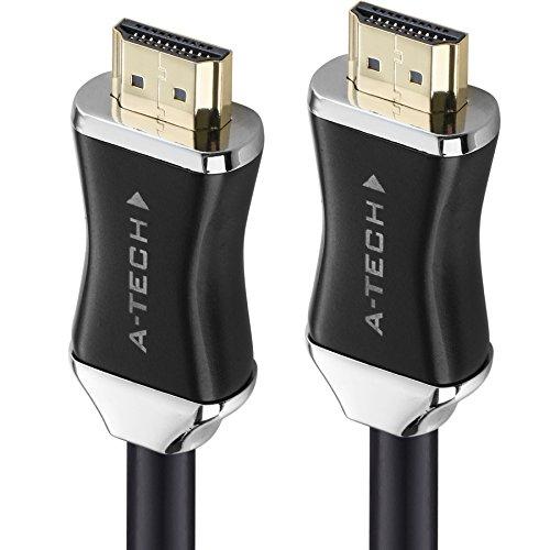 KPA-tech 5m HDMI Kabel / kompatibel mit HDMI 2.0a/b, 2.0, 1.4a (Ultra HD, 4K, 3D, Full HD, 1080p, HDR, ARC, Highspeed mit Ethernet) - TOP Series