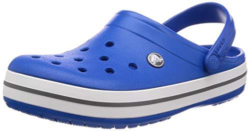 crocs Unisex-Erwachsene Crocband U' Clogs, Blau (Bright Cobalt/Charcoal 4jn), 38/39 EU