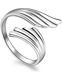 TBOP Ring The Best Of Planet Simple & Stylish Ring Through The Tianyu Opening Ring Wings Ring & Its Size 2.1cm...