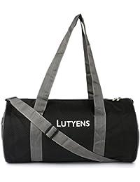 Lutyens Black Grey Hand Bag II Multiuse bag II Smart Tuition Bag II Quality Gym Bag(21 Ltr) (Lutyens_203)