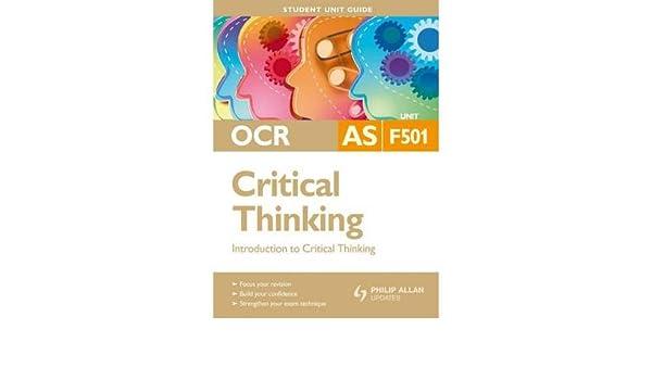 critical thinking f501