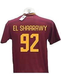 Maglia Calcio El Shaarawy 92 Roma Replica Autorizzata 2017-2018 bambino  (taglie 2 4 9f5bfec816e