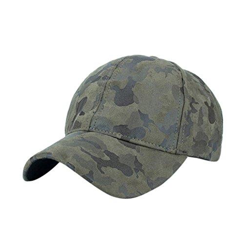 KanLin Camouflage Baseball Cap, Corduroy Baseball Cap Snapback Hip Hop Hat (Army (Glitzer Weiß Handschuhe Mädchen Silber)