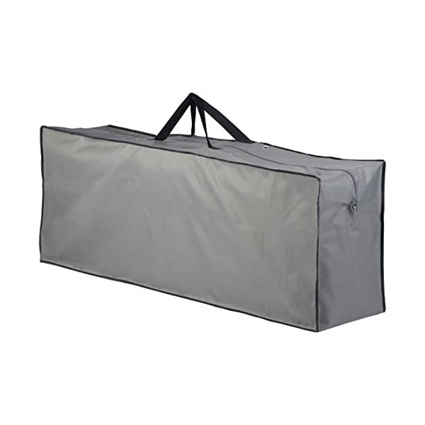 Groovy Ultranatura Furniture Storage In A Carry Waterproof Box As A Protective Bag For Garden Cushions Grey 130X32X50 Cm Download Free Architecture Designs Scobabritishbridgeorg
