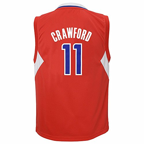 Jamal Crawford Los Angeles Clippers NBA Adidas Jungen Rot offizielle Road Replica Basketball Jersey, Jungen, rot