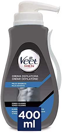 VEET Men crema depilatoria pieles sensibles dosificador 400 ml ...