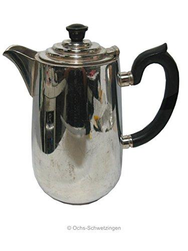Kaffeekanne versilbert England 37/73 - Bakelitgriffe silver Plated ca19cm hoch