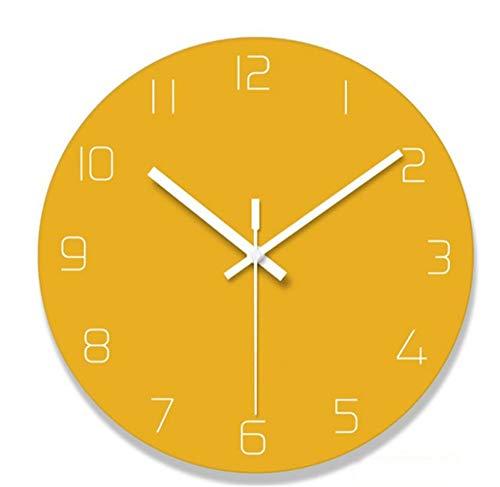 SYT Wall Clock Ruhige Wanduhr Der Einfachen Wanduhr Der Einfachen Wanduhr  Der Modernen Kreativen Art Und