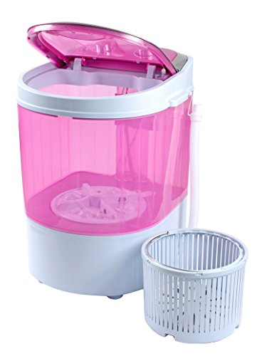 Dmr 3 Kg Portable Mini Washing Machine With Dryer Basket  (dmr 30-1208, Pink)