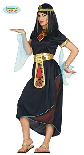 Cleopatra Kostüm für Damen Ägypterin Königin Orient Antike Fasching schwarz