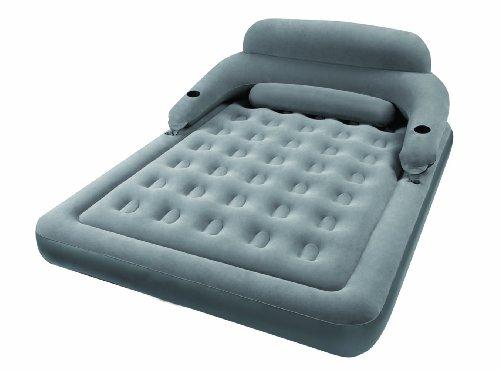 Intex airbed materasso con schienale matrimoniale cm.152x203x71 68916