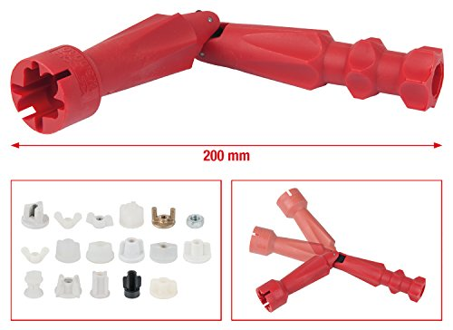 KS Tools 123.0030 WC-Sitz Montageschlüssel, 200 mm