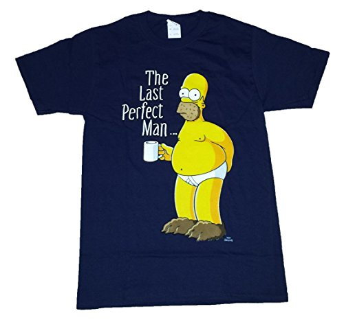 the-simpsons-t-shirt-uomo-blue-s