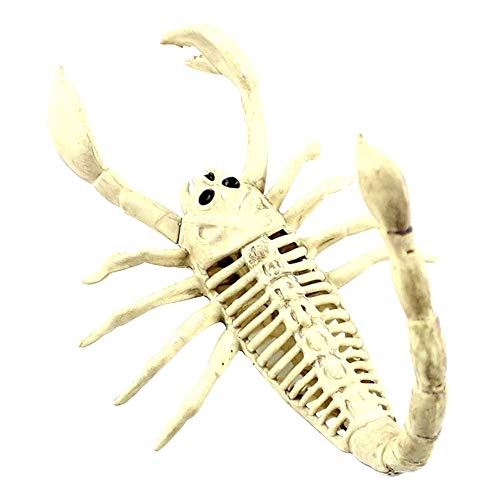 YUnnuopromi Creepy Scorpion Skeleton TierKnochen Horror Halloween Party Bar Home Dekoration ()