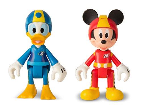 Disney Roadster Racers 2 Figuren (Micky+Donald), blau ()