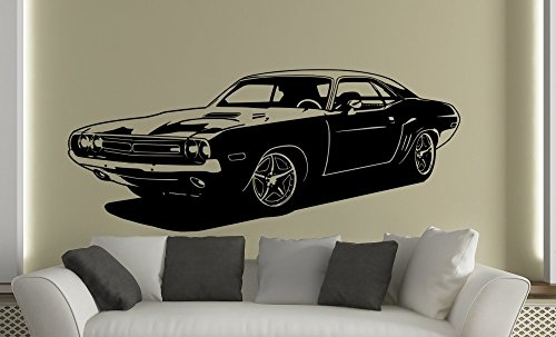 wall-sticker-1971-dodge-challenger-2-fast-2-furious-vinyl-black-x-large