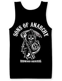 Officially Licensed Merchandise Sons Of Anarchy - Redwood Original Tank Top Vest