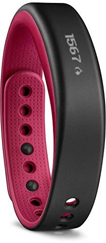 Garmin Vivosmart Braccialetto Wellness / Fitness per Rilevamento Attività Fisica, Notifiche Smart, Rosa, Large (155-221 mm)