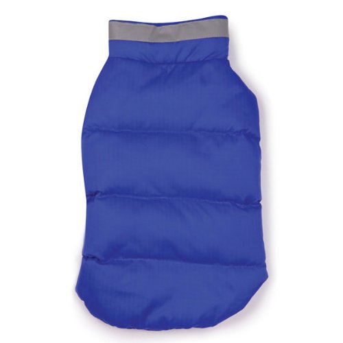 Artikelbild: Casual Canine Polyester The North Paw Puffy Dog Vest, Small, Blue by Casual Canine