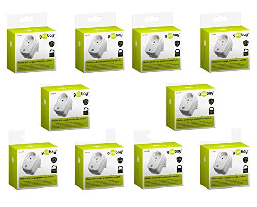 Goobay Netz-und Überspannungsschutz (230V-3500) (10er Pack) -