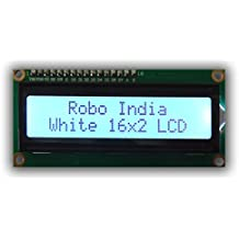Robo India LCD 16X2 with female header pin with WHITE Back Light