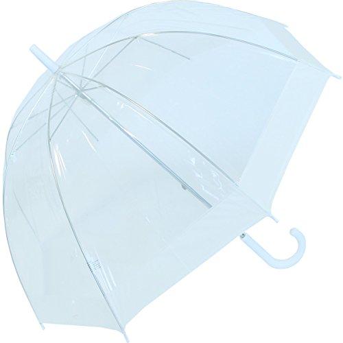 Regenschirm transparent Glockenschirm weiß - Fotografen Regenschirm Für
