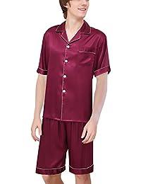 f87c9e2ca Amazon.es: Pijama De Seda Hombre - Pijamas / Ropa de dormir: Ropa