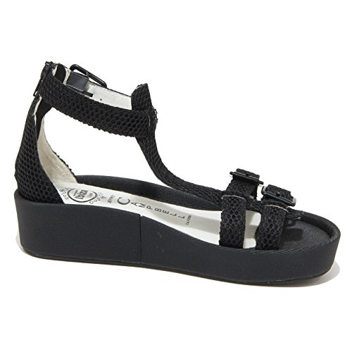 8776N sandalo JEFFREY CAMPBELL EUROPA nero sandali donna sandals women Nero