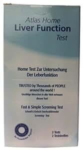 Atlas Home Liver Function Urine Test - Pack of 2 Tests