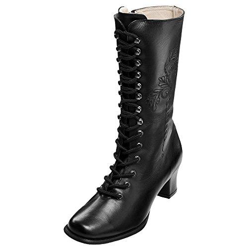 Spieth & Wensky: Stiefel schwarz Schwarz