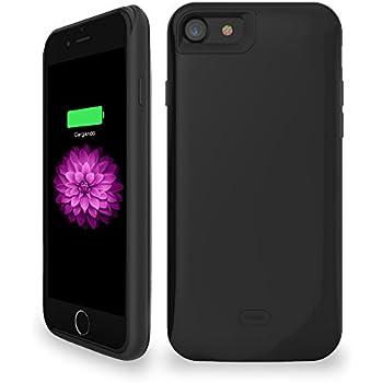 Coque Batterie Chargeur pour iPhone 7, iPhone 7 Coque de Protection avec Batterie intégrée