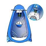 Lw outdoor Tenda da Campeggio Tenda da Campeggio Tenda da Esterno Tenda da Doccia Capanno per Doccia Mantenere Caldo Cambiare la Copertura Semplice Mobile Toilette (Colore : B1)