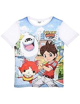 Yo-Kai Watch Camiseta de Manga Corta - Para Niño