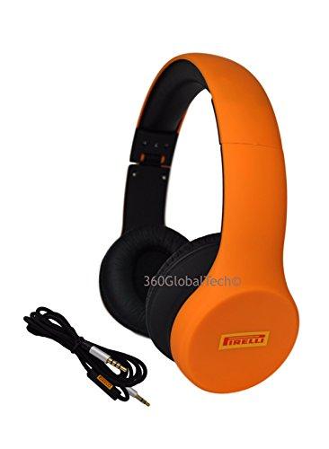 pirelli-sopra-lorecchio-dj-style-cuffie-stereo-con-microfono-e-oscillante-regolabile-pieghevole-per-