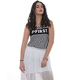 Amazon.it  abbigliamento donna liu jo - Canotte e top   T-shirt 510c1c74f23